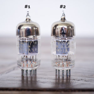 Sylvania 12AT7WA Military Gold Label Preamp Vacuum Tubes in Pairs